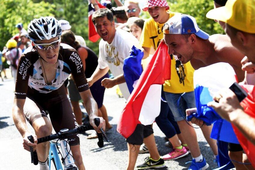 Romain Bardet este considerat unul dintre francezii care pot cîștiga Turul Franței după mai multe de 3 decenii, foto: reuters
