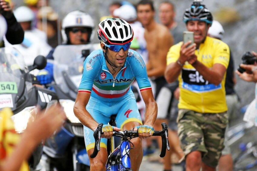 Vincenzo Nibali a fost al patrulea la Paris, cu o victorie de etapă în palmares, foto: reuters
