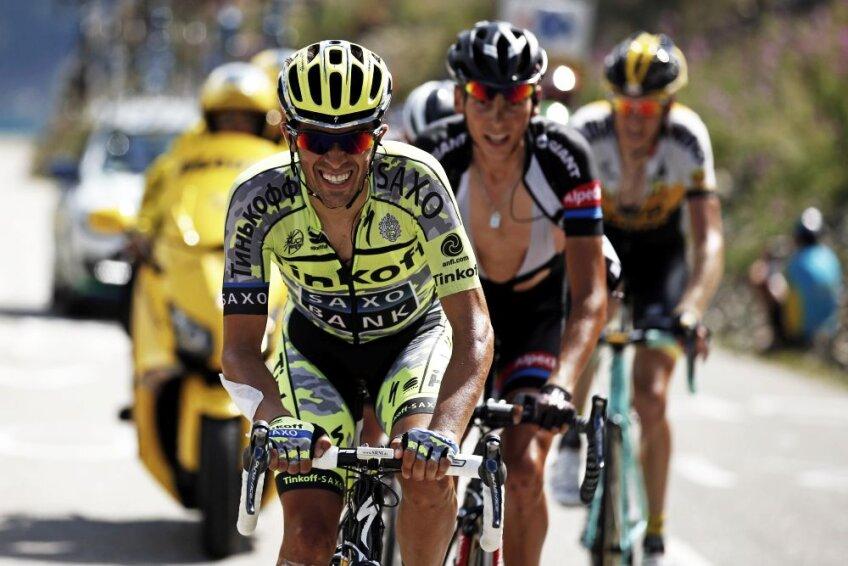 Alberto Contador, foto: reuters