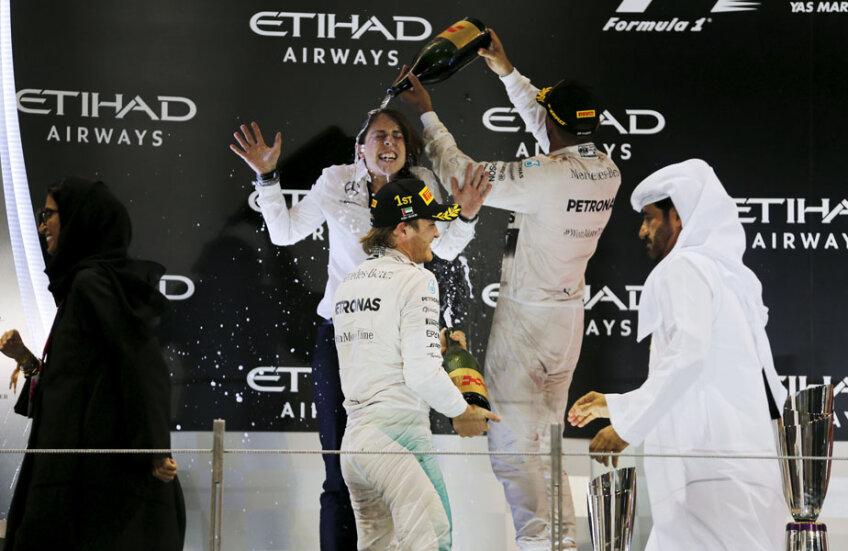 Lewis Hamilton și Nico Rosberg, cea mai bună afacere pentru Mercedes în ultimii doi ani: titlul mondial la constructori, două titluri pentru Lewis Hamilton și două locuri secunde în clasamentul piloților pentru Nico Rosberg