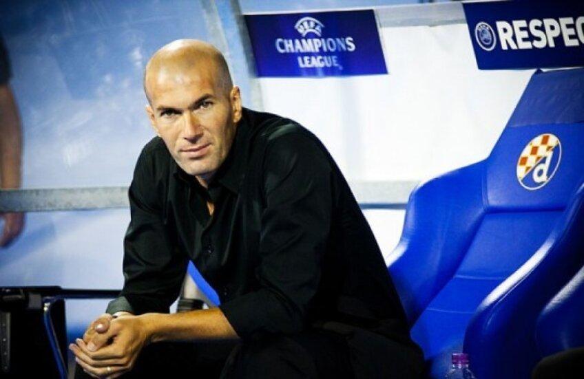 Zidane va debuta în Primera în meciul de sîmbătă cu Deportivo, pe teren propriu