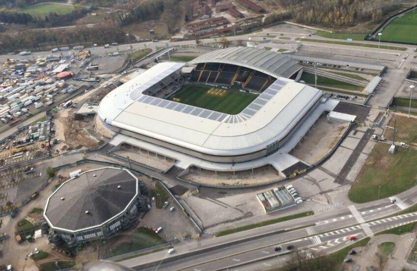 Noul stadion, pe care Udinese joacă în acest sezon, e un model pentru standardele de siguranță și de protejare a mediului
