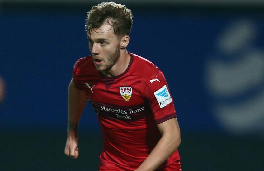 Maxim a adunat numai 522 de minute în tot turul de campionat la Stuttgart, marcînd un singur gol // Foto: Guliver/GettyImages