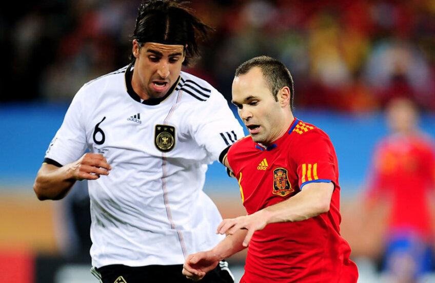 Germania și Spania vor face parte din aceeași divizie