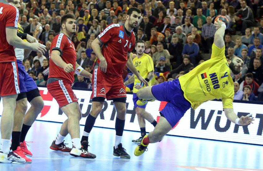 Marius Mocanu a făcut un joc extraordinar, dar România a ratat calificarea // Foto: MediafaxFoto