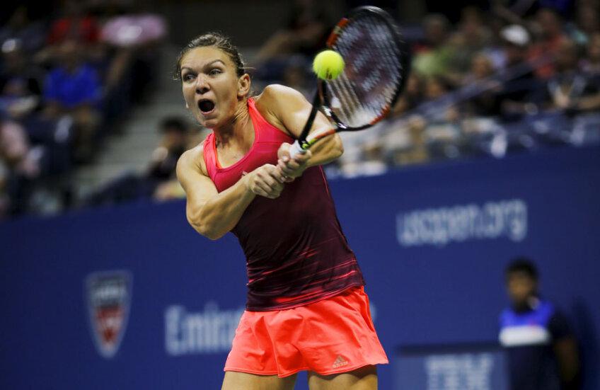 Simona Halep a atins semifinalele la US Open, cel mai recent concurs de Mare Șlem disputat // Foto: Reuters