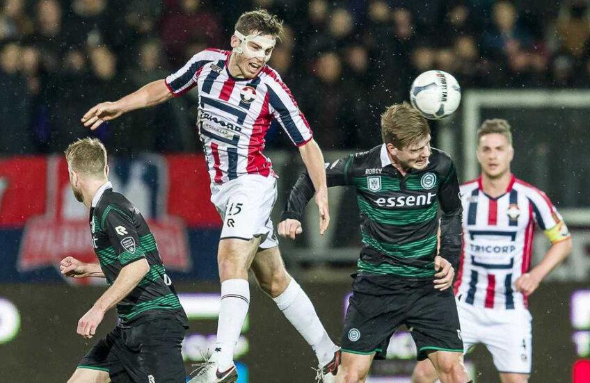 La acest meci, Willem - Groningen 1-1, din ultima etapă, șeful securității stadionului din Tilburg a depistat un englez bănuit de conexiuni cu mafia pariurilor