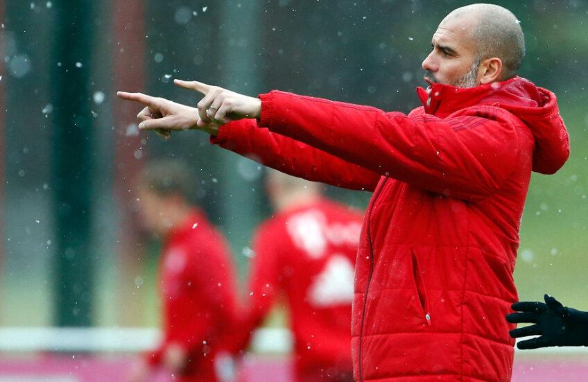 Acuzat de jucători că n-a făcut pregătire de iarnă cu Bayern, Guardiola e în relații foarte bune cu Man. City din 2012 // Foto: Reuters