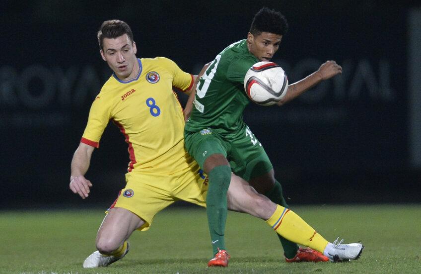 Mateiu spune că se simte mîndru la echipa naţională a României