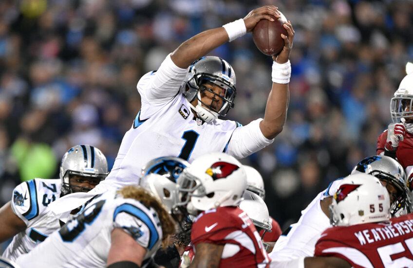 Cam Newton are șanse să cîștige primul său titlu cu Carolina Panthers