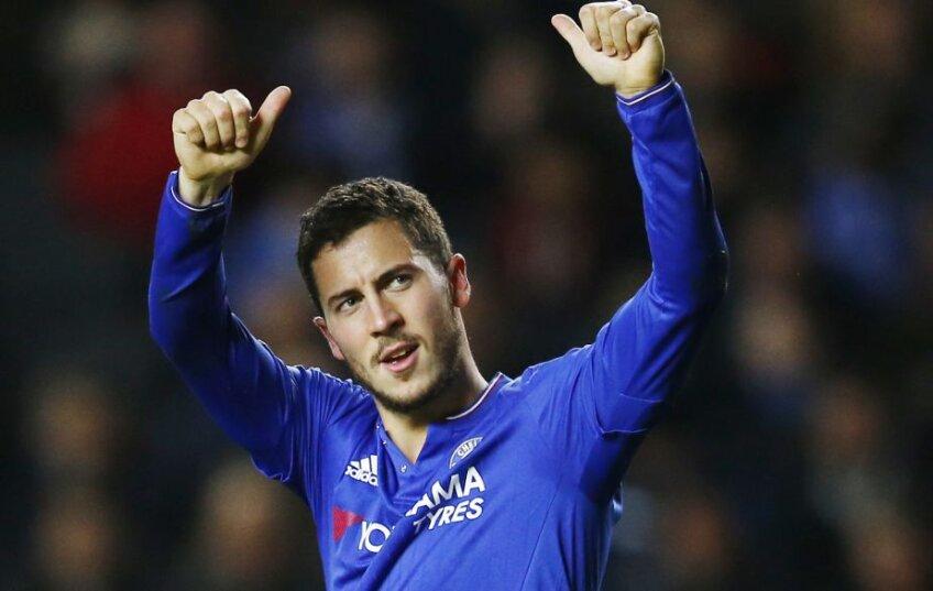 Eden Hazard, Chelsea, foto: reuters