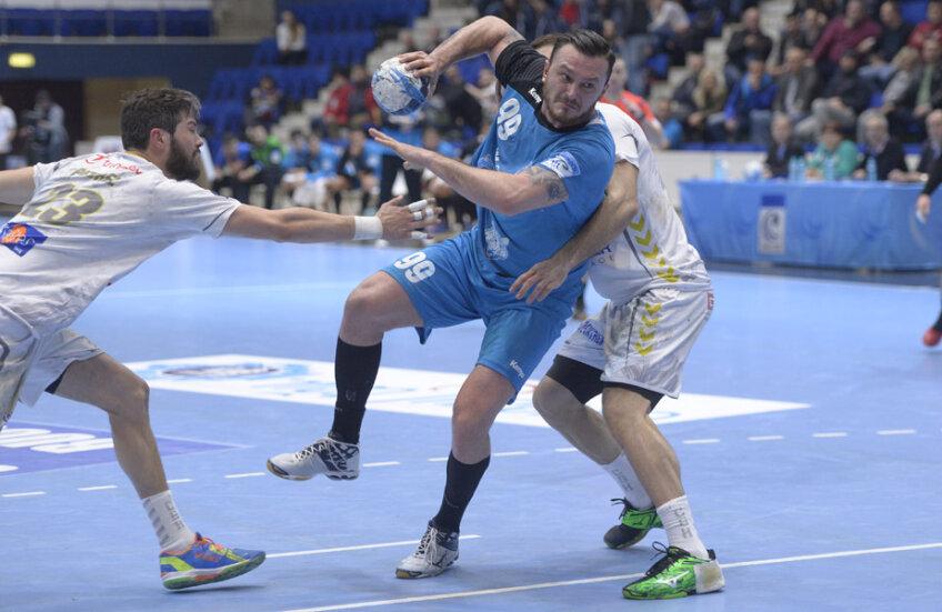 Iulian Stamate a marcat de trei ori împotriva francezilor // Foto: Cristi Preda