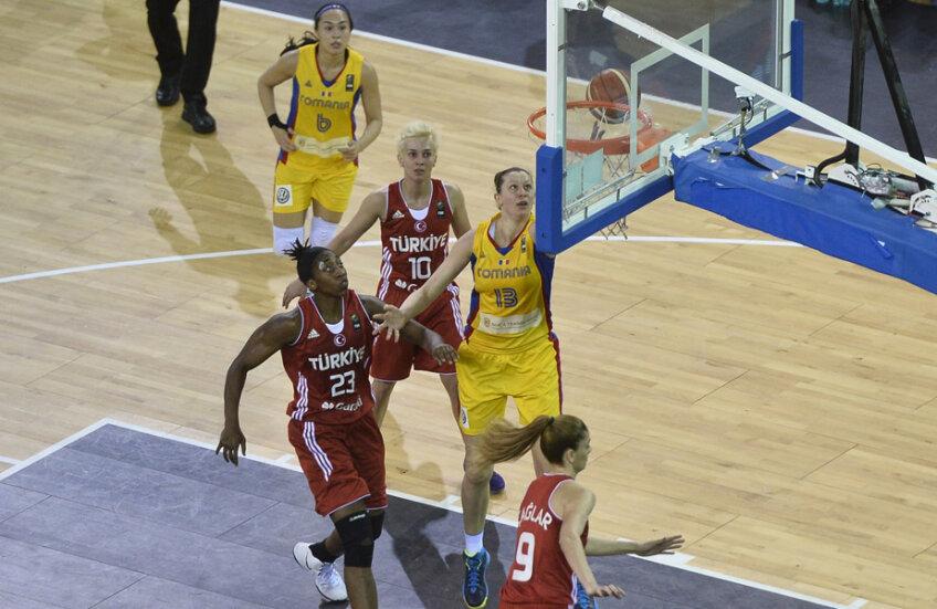 Florina Paşcalău a marcat în meciul cu Turcia 7 puncte // Foto: Raed Krishan (Cluj)
