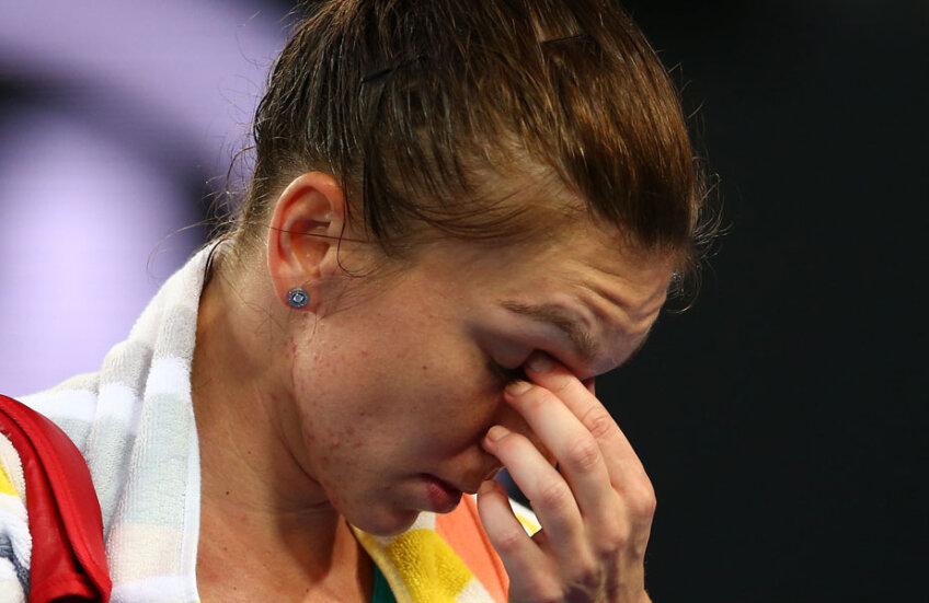Simona Halep a părăsit de cinci ori terenul învinsă anul acesta // FOTO Guliver/GettyImages