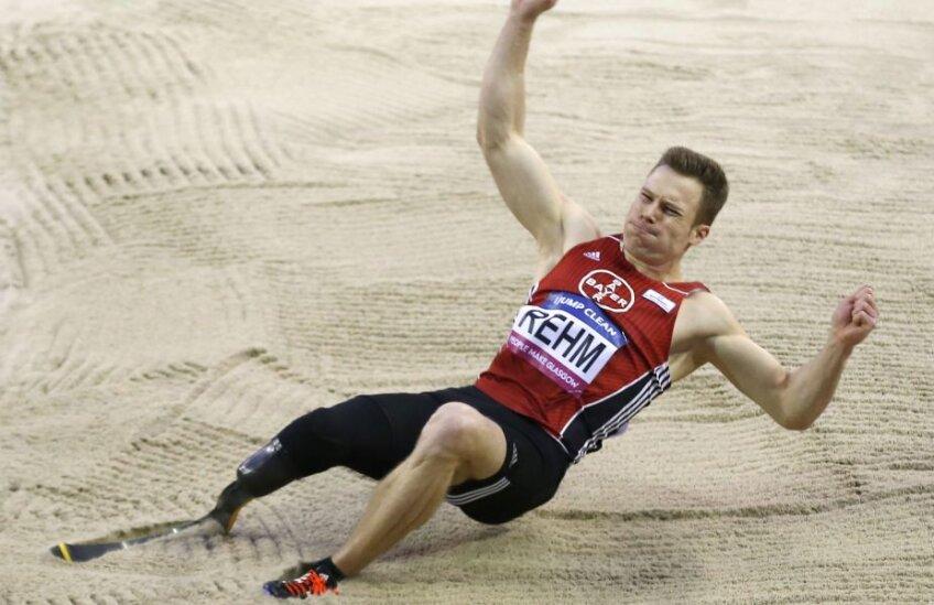 Markus Rehm se simte bine în groapa cu nisip // FOTO Reuters