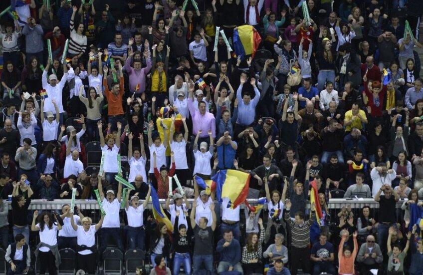 Sala Polivalentă din Cluj are o capacitate de 7.200 de locuri, iar suporterii o vor umple // FOTO Raed Krishan