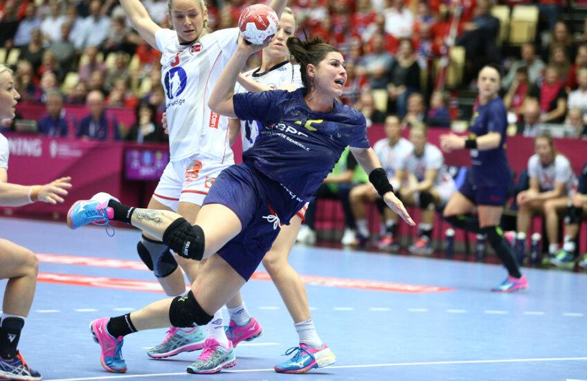 Oana Manea vrea victoria în meciul cu Norvegia // FOTO Marius Ionescu