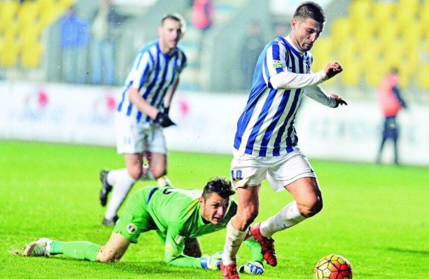 Andrei Cristea a bifat aseară un gol și un assist la reușita lui Bole
