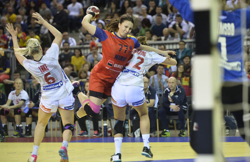 Eliza Buceschi e gata pentru meciul cu Danemarca // Foto Raed Krishan