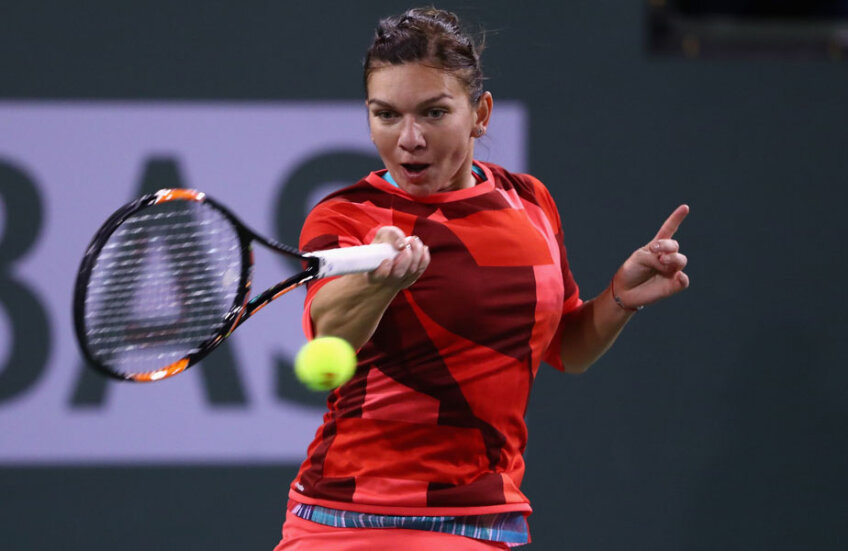 Simona Halep a reuşit 16 lovituri câştigătoare, faţă de cele 13 ale Ekaterinei Makarova // FOTO AFP
