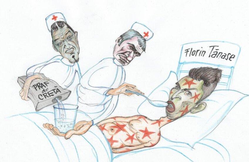 Caricatură de Emil Mierlă