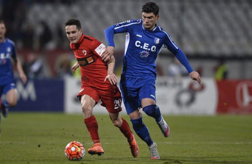 Palici versus Săpunaru sau duelul celor mai buni fotbalişti din meciul de aseară