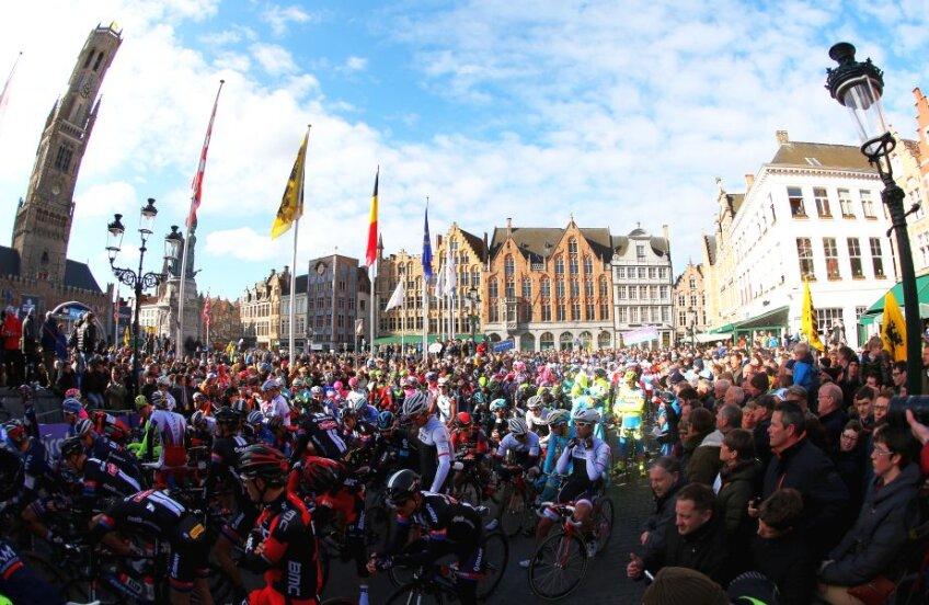 Imagine de la startul Turului Flandrei, foto: Guliver/gettyimages