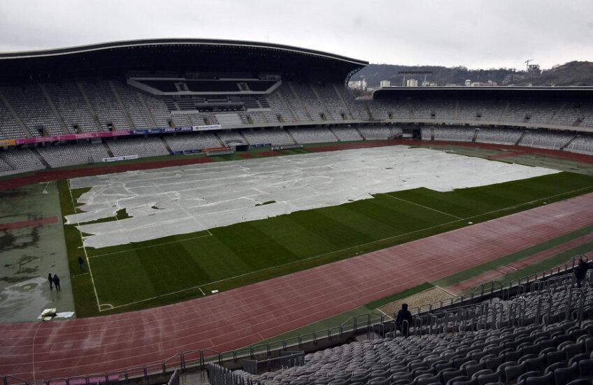 50% sunt şansele ca, în ziua meciului, să plouă la Cluj