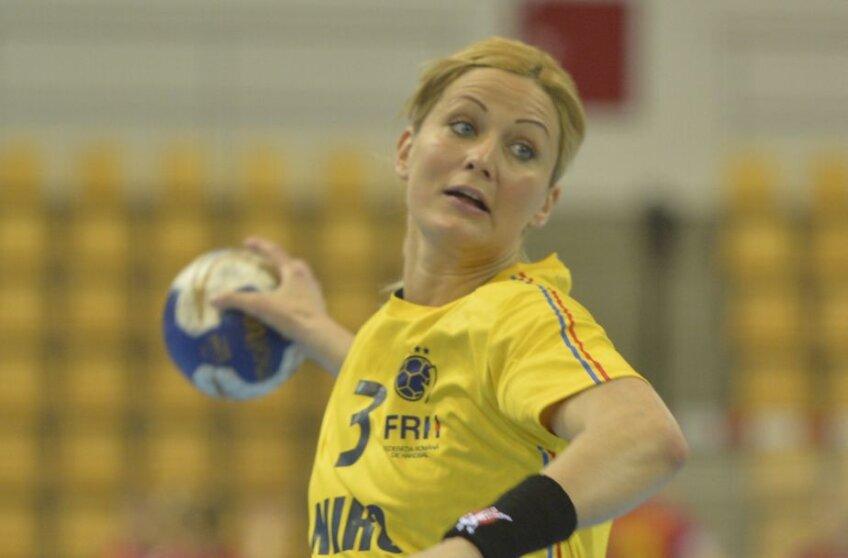 Gabi Szucs a jucat în tricoul României la turneul preolimpic de la Aarhus FOTO Cristi Preda