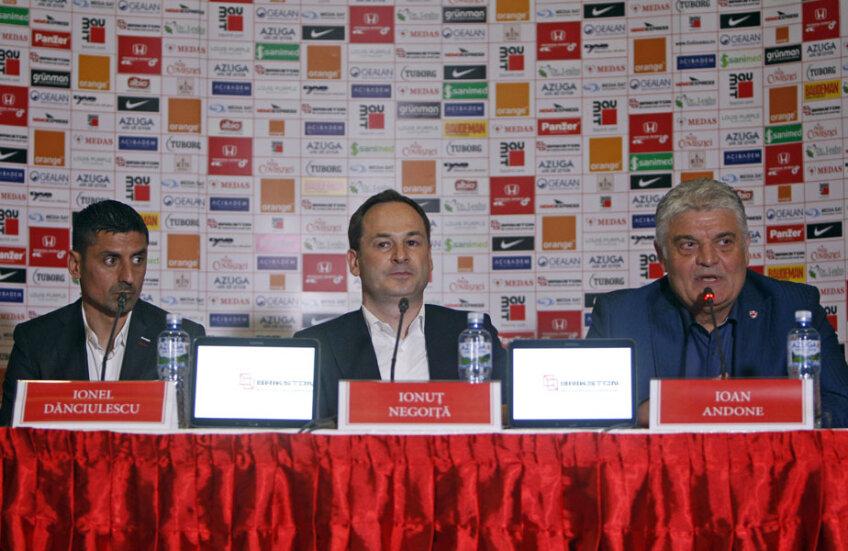 Negoiţă şi Andone au oficializat noua colaborare // Foto: Octavian Cocoloş