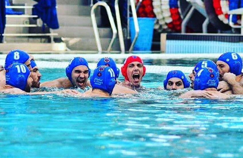 Steliștii au câștigat primul titlul, la trei ani de la inaugurarea bazinului din Ghencea // FOTO CSA Steaua București