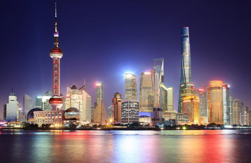 Pudong, centrul financiar al Shanghaiului