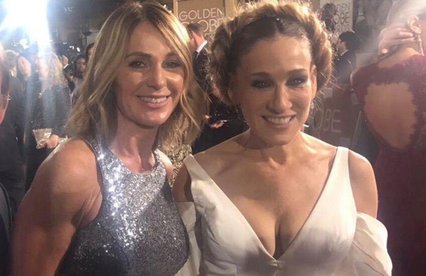 Nadia și Sarah Jessica Parker