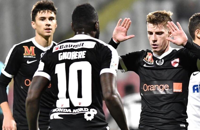 Tripleta ofensivă s-a destrămat în 3 zări: Lazăr a ales Qatar, Rotariu merge în Belgia, iar Gnohere a trecut la rivala Steaua