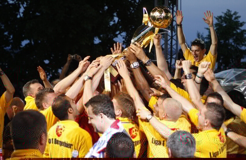 Oţelul este singura echipă din Moldova care a câştigat titlul de campioană