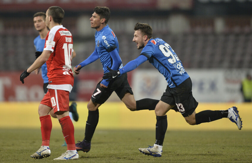 Roșu (alături de Coman) a confirmat încrederea în victoria cu Dinamo, din