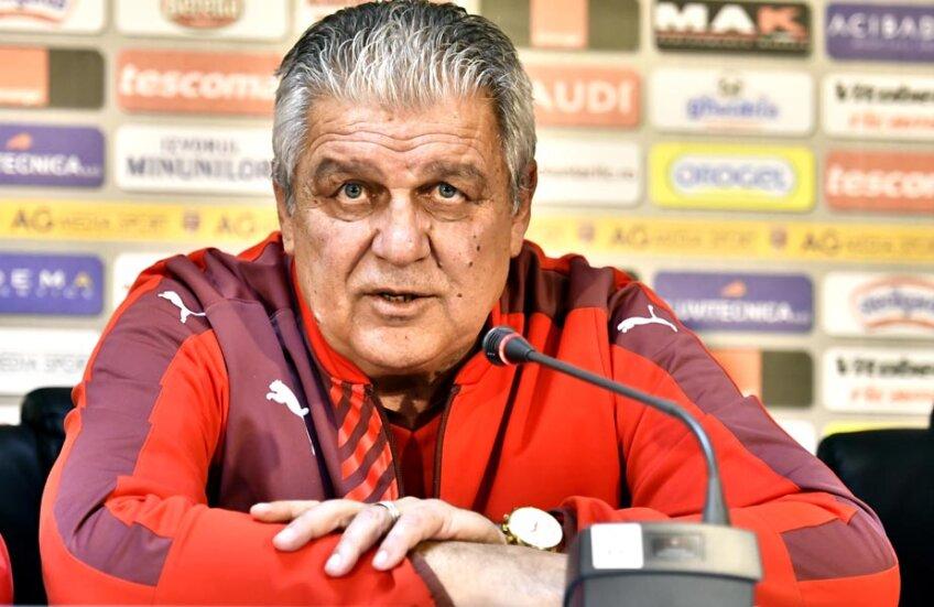 Marin are 7 victorii ca antrenor împotriva Stelei și un procentaj de 35,8 la sută ca puncte câștigate //  Foto voluntarifc.ro