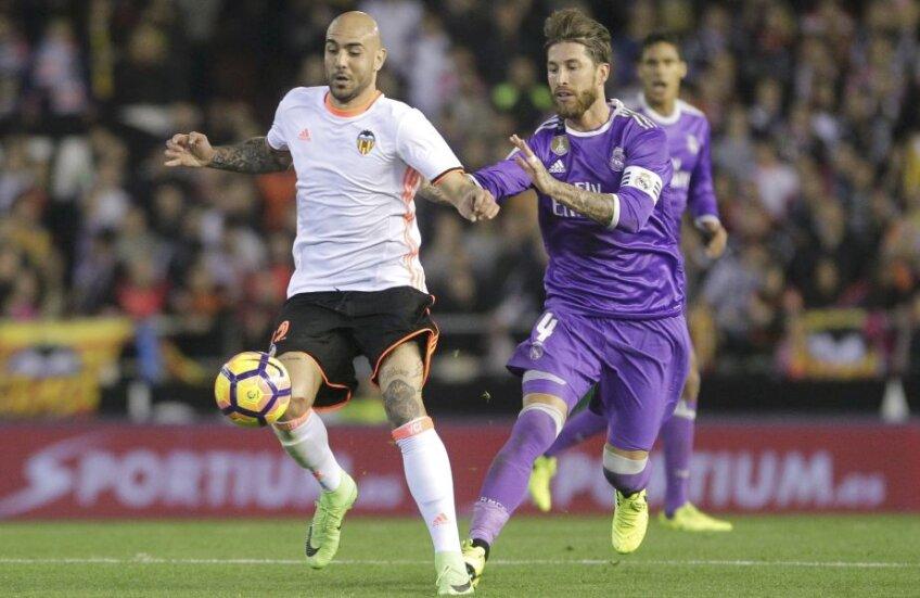 Zaza, tricou alb, coșmarul lui Ramos și al Realului //  Foto: Reuters