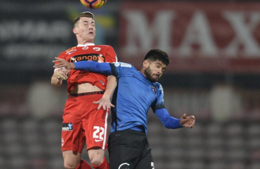 Dinamoviștii n-au învins Viitorul în acest sezon, o remiză în deplasare și un eșec, la începutul lui 2017, în Ștefan cel Mare