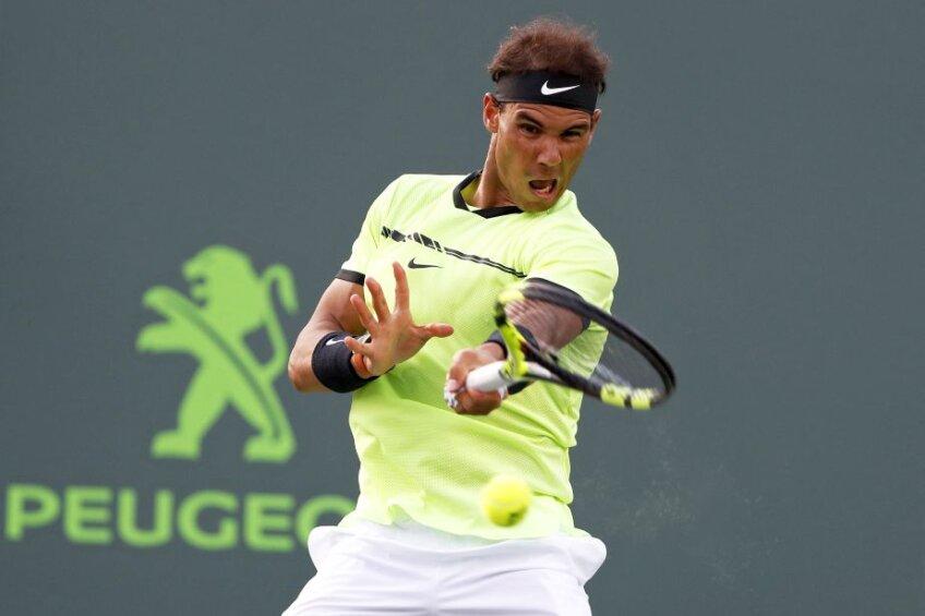 Rafael Nadal a revenit bine după un 2016 cu accidentări, dar pierde teren față de marii rivali FOTO Reuters
