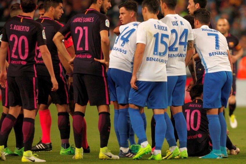 Au fost atât de slabi la Malaga, încât cotidianul AS nu i-a putut nota. Le-a dat linie!