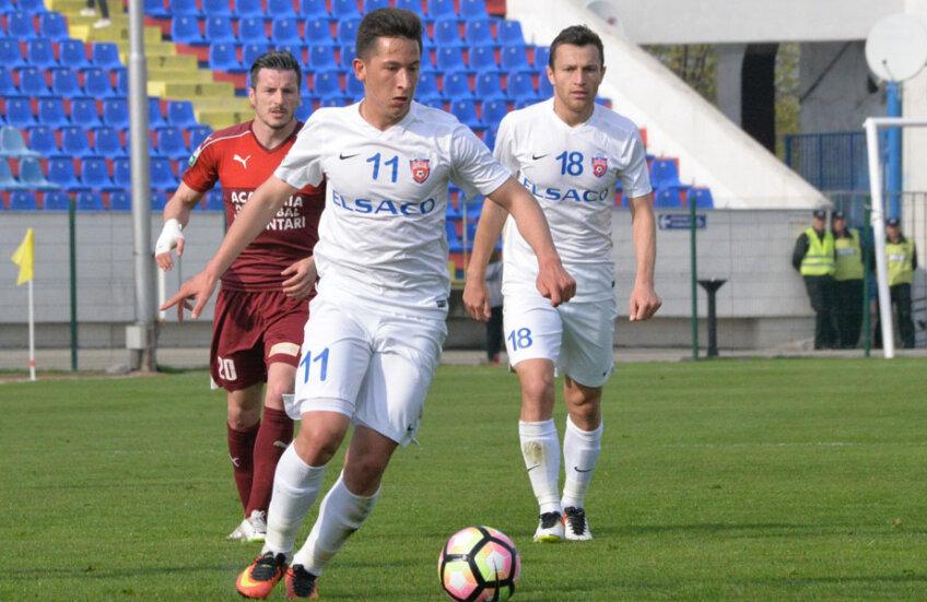 Moruţan a debutat deja şi în echipa naţională de tineret
