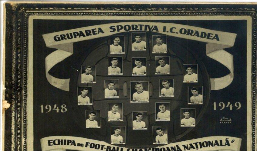 Campioana României 1948-1949 // Foto: caoradea.ro