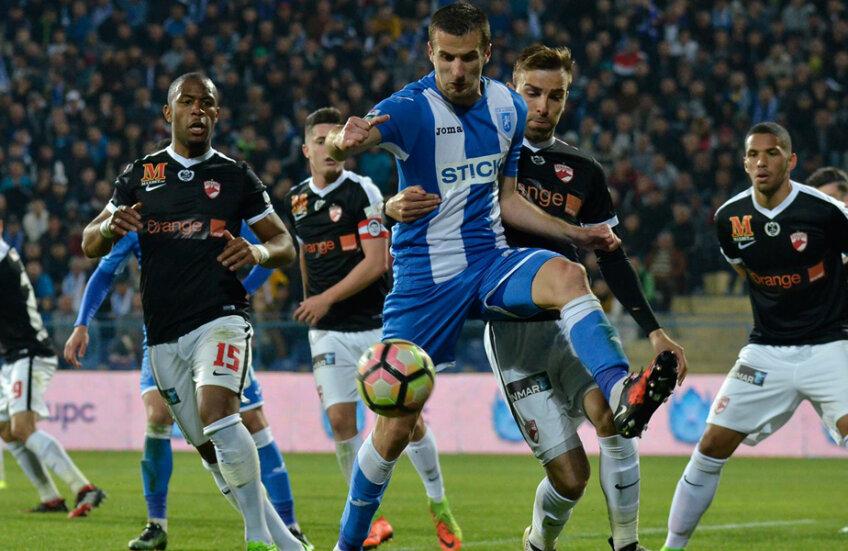 În Cupă, Craiova a eliminat-o la penalty-uri pe Dinamo, după ce în timpul regulamentar jocul s-a încheiat fără gol marcat. Pentru