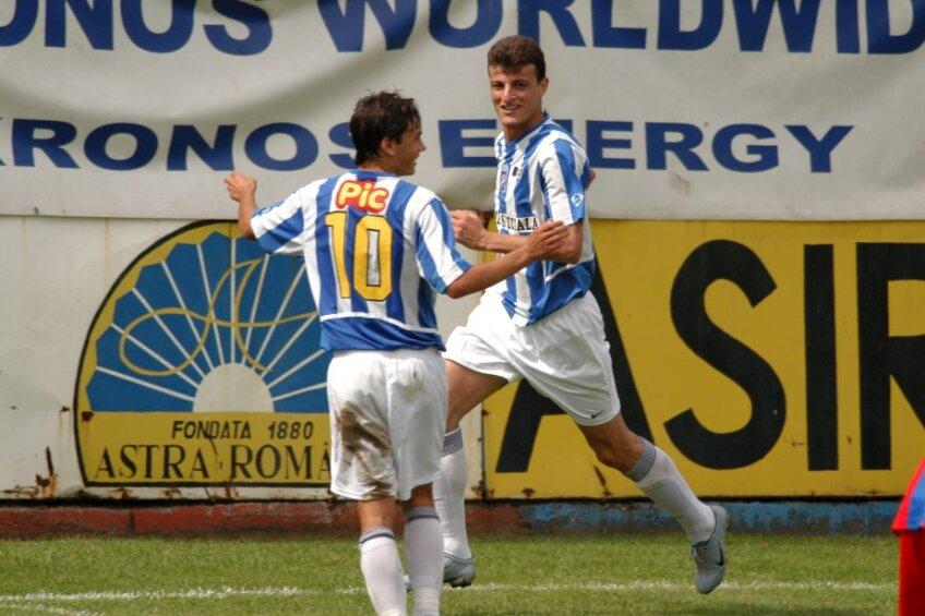 Jaber se bucură după o reușită alături de Andrei Ionescu