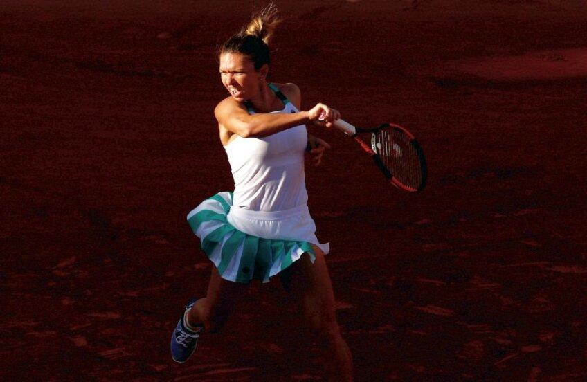 Lumina turneului. Simona Halep a jucat excelent în primul tur de la Roland Garros și speră la trofeu, foto: reuters