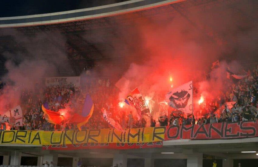Fanii lui U Cluj promit o atmosferă de zile mari la meciul de miercuri cu Dinamo // FOTO: Gazeta Sporturilor