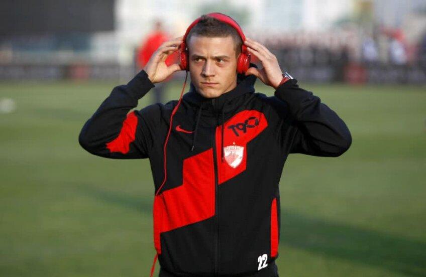 Torje a vrut la Dinamo și datorită expunerii la națională, și pentru sutele de mesaje din partea fanilor roș-albi /  // FOTO: Arhivă Gazeta Sporturilor