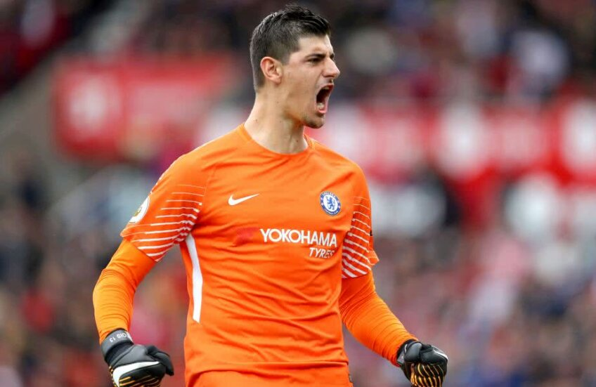 Courtois, 25 de ani, a câștigat 8 trofee în carieră cu Genk, Atletico și Chelsea // FOTO: Guliver/ Getty Images