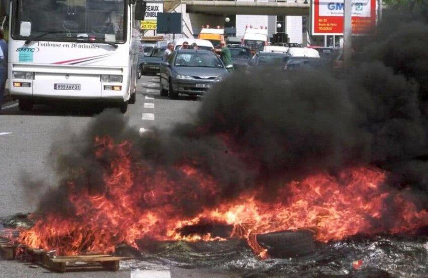 Fermierii din Tolouse  au început să recurgă la violență